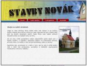 Stavby Novák