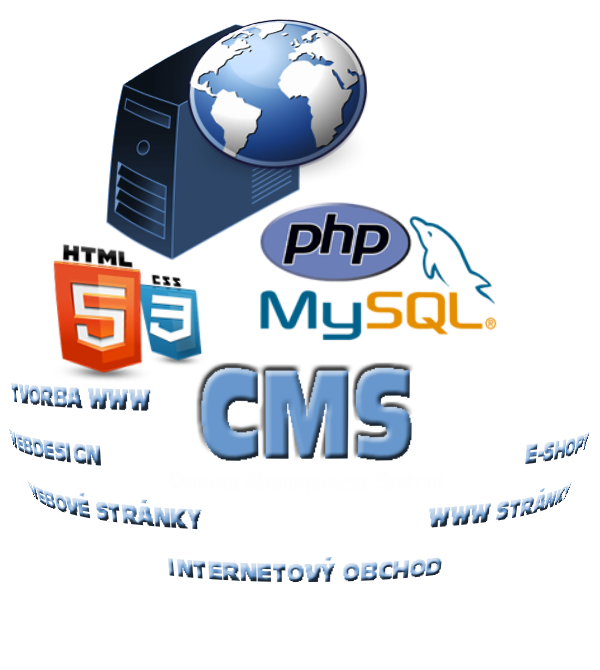 cms, webdesign, tvorba www, eshop